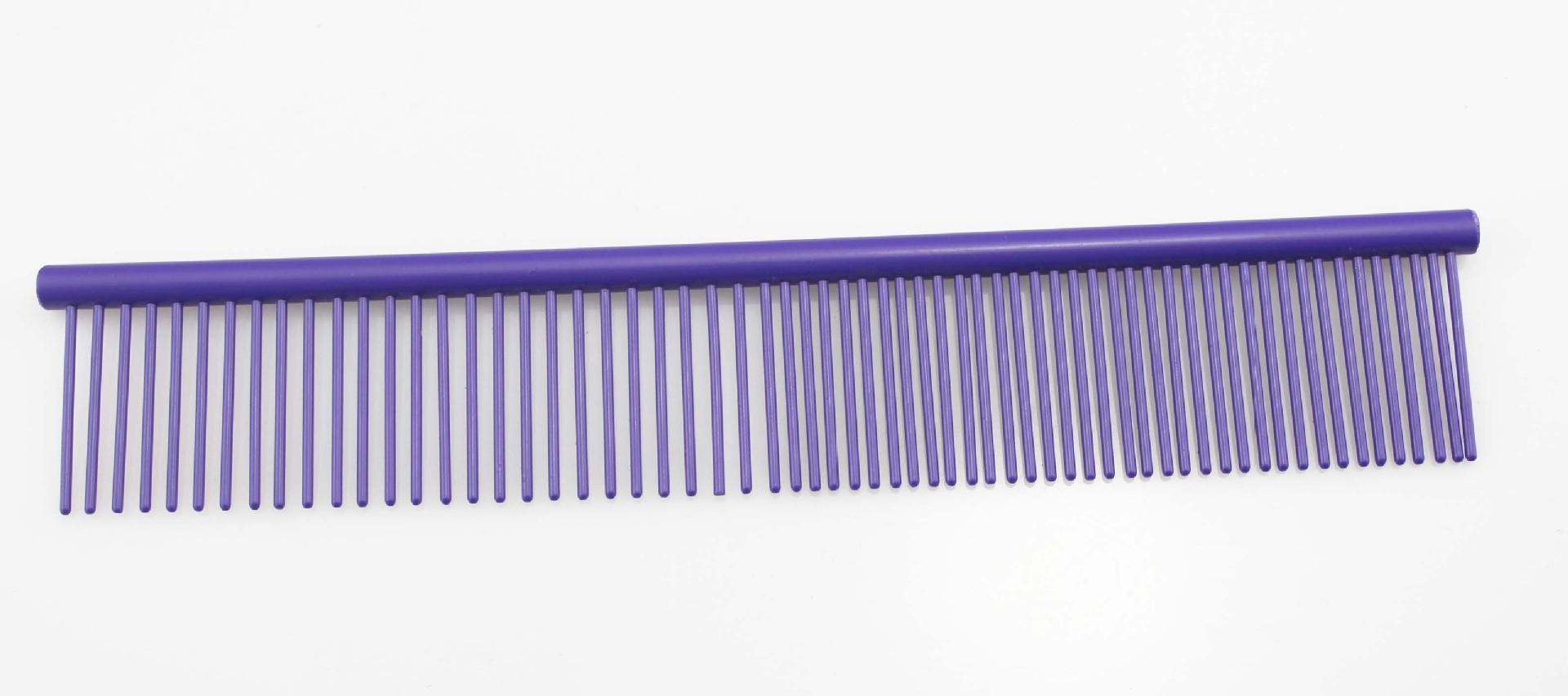 Набор грумера 7 дюймов ножницы 3 шт. + гребень JOEWELL, фиолетовый